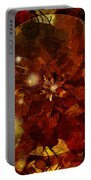 Autumn Leaves Abstract Portable Battery Charger