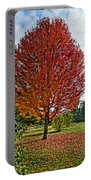 Autumn Maple Emphasized Portable Battery Charger