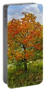 Autumn Maple Tree Portable Battery Charger