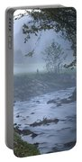 Autumn Mist Portable Battery Charger