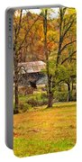 Autumn Moment Paint Portable Battery Charger
