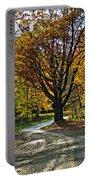 Autumn Oak Portable Battery Charger
