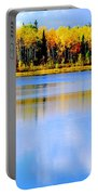 Autumn On Chena Lake Ll Portable Battery Charger
