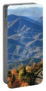 Autumn On The Blue Ridge Parkway Portable Battery Charger