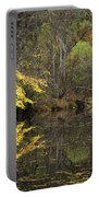 Autumn On The Pond Portable Battery Charger