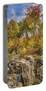 Autumn On The Rocks Portable Battery Charger