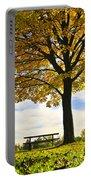 Autumn Park Portable Battery Charger
