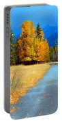 Autumn Perspective Portable Battery Charger