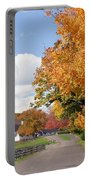 Autumn Picture Postcard Portable Battery Charger