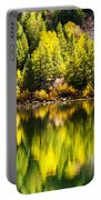 Autumn Reflection In Georgetown Lake Colorado Portable Battery Charger