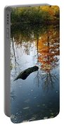 Autumn Reflections Portable Battery Charger