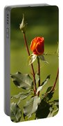 Autumn Rose Portable Battery Charger