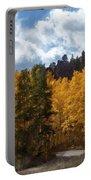 Autumn Splendor Portable Battery Charger by Carol Cavalaris