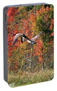 Autumn Vermont Geese And Color Portable Battery Charger