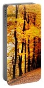 Autumn Walk In Belgium Portable Battery Charger