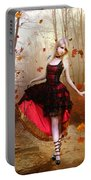 Autumn Waltz Portable Battery Charger by Mary Hood