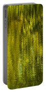 Autumn Water Reflection Abstract IIi Portable Battery Charger