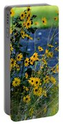 Autumn's Gold At The Lake Portable Battery Charger
