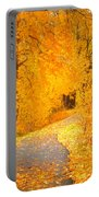 Autumn's Golden Corner Portable Battery Charger