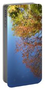 Autumn's Watery Reflection Portable Battery Charger