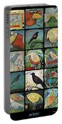 Aviary Poster Portable Battery Charger