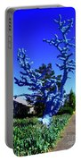 Baby Blue Tree Portable Battery Charger