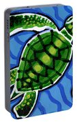 Baby Green Sea Turtle Portable Battery Charger