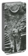 Babylonian Boundary Stone Portable Battery Charger by Science Source