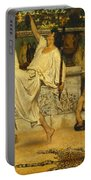 Bacchanal Portable Battery Charger by Sir Lawrence Alma-Tadema