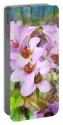Backyard Blooms Portable Battery Charger
