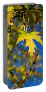 Backyard Leaves Portable Battery Charger