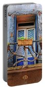 Balcony Door Dordogne France Portable Battery Charger
