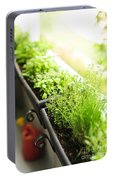 Balcony Herb Garden Portable Battery Charger