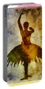 Ballerina 1 With Border Portable Battery Charger