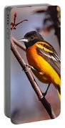 Baltimore Oriole Iv Portable Battery Charger