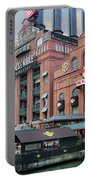 Baltimore Power Plant Portable Battery Charger by Brian Wallace