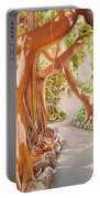 Banyan In The Afternoon Portable Battery Charger