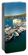 Bar Harbor Boat Dock Portable Battery Charger