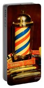 Barber - Barber Pole Portable Battery Charger