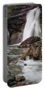 Baring Falls In Spring Portable Battery Charger