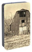 Barn-sepia Portable Battery Charger