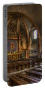 Baroque Church In Savoire France 2 Portable Battery Charger