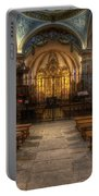 Baroque Church In Savoire France 4 Portable Battery Charger