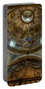 Baroque Church In Savoire France 5 Portable Battery Charger