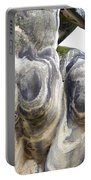 Baroque Statue - Detail - Backside Portable Battery Charger by Michal Boubin