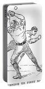 Baseball Players, 1889 Portable Battery Charger