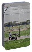 Baseball Warm Ups Digital Art Portable Battery Charger