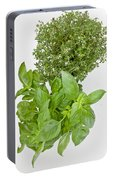 Basil And Thyme Portable Battery Charger