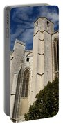 Basilica Of Saint Mary Madalene Back View Portable Battery Charger