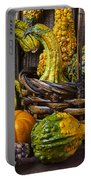 Basket Full Of Gourds Portable Battery Charger